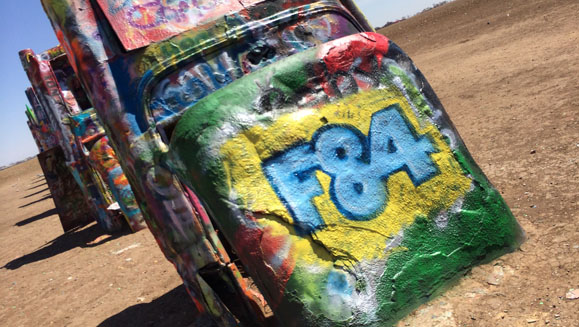 F84 Cadillac Ranch
