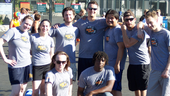 F84 Games participating in Los Angeles Mud Run