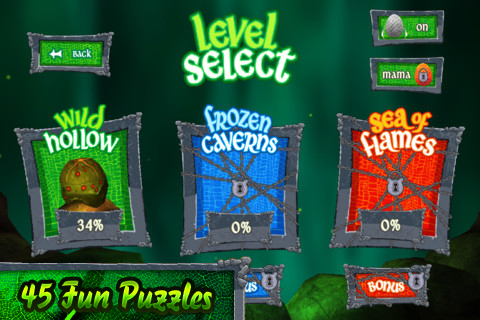 Dragon Eggs Game Screenshot